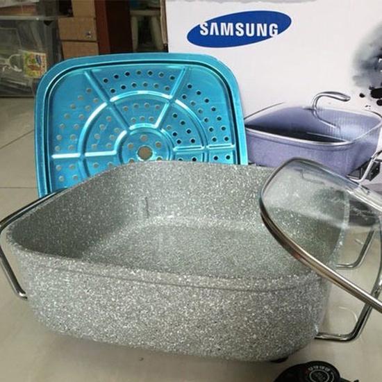 Chảo lẩu đa năng Samsung vân đá