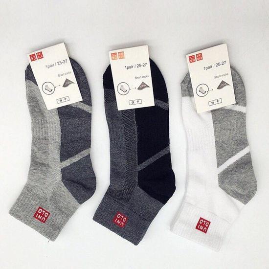 Combo 5 đôi tất nam Uni cổ trung Nhật Bản
