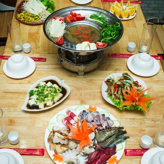 Lẩu Thái đặc biệt+ nhiều món ăn kèm hấp dẫn cho 4N
