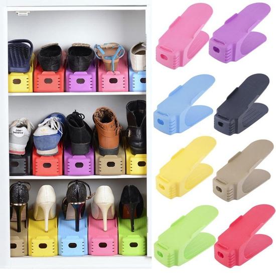 Combo 5 kệ để giầy thông minh nhiều màu