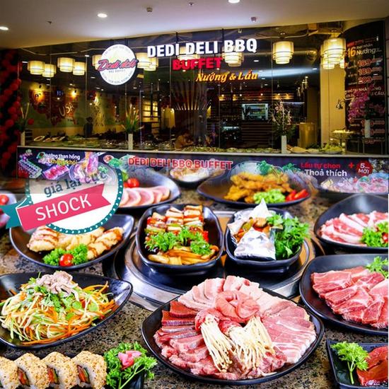 Buffet Nướng Lẩu Đặc Biệt - Dedi Deli Royal City