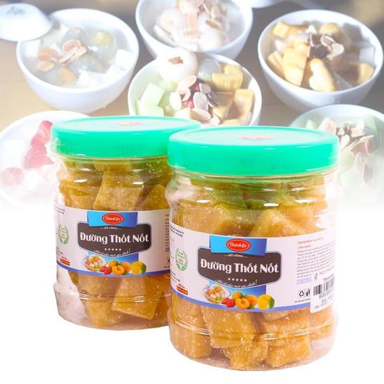 2 hộp đường thốt nốt Thành Lộc thơm dịu 500g/ hộp