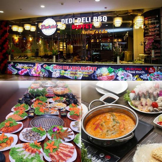 Buffet Nướng & Lẩu Standard - Dedi Deli Royal City