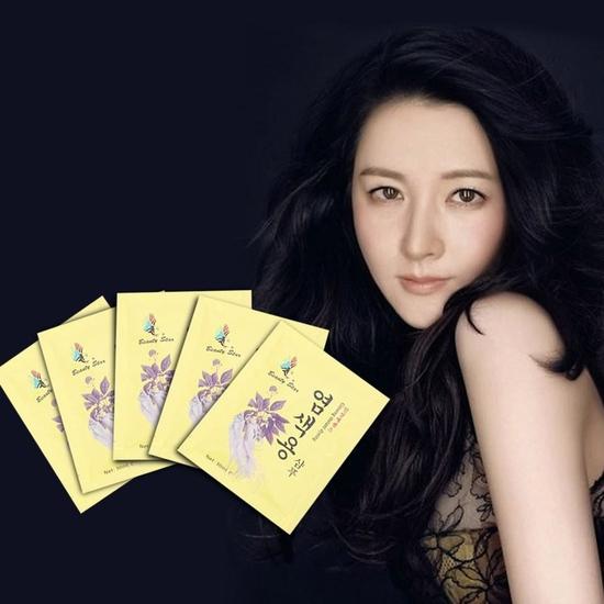 20 gói dầu gội đen tóc thảo dược - NK Hàn Quốc