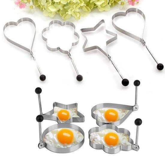 4 Khuôn inox cao cấp chiên trứng và làm bánh