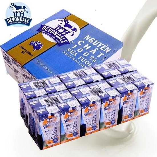 24 hộp sữa tươi nguyên kem Devondale NK Úc
