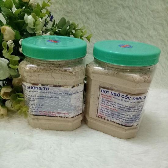 2 hộp bột ngũ cốc dinh dưỡng TH (500g/1 hộp)