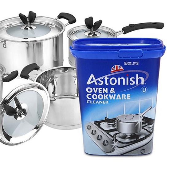 Kem tẩy rửa dụng cụ nhà bếp Astonish 500g