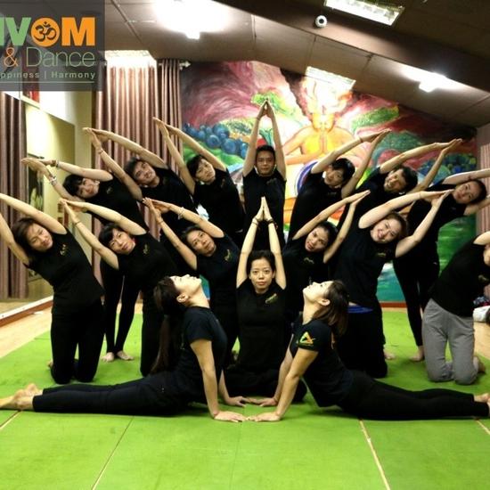Voucher thẻ tập Yoga &, Dance 6 buổi tại Shivom