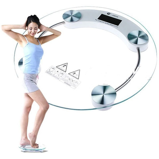 Cân điện tử công nghệ cảm biến loại lớn hình tròn