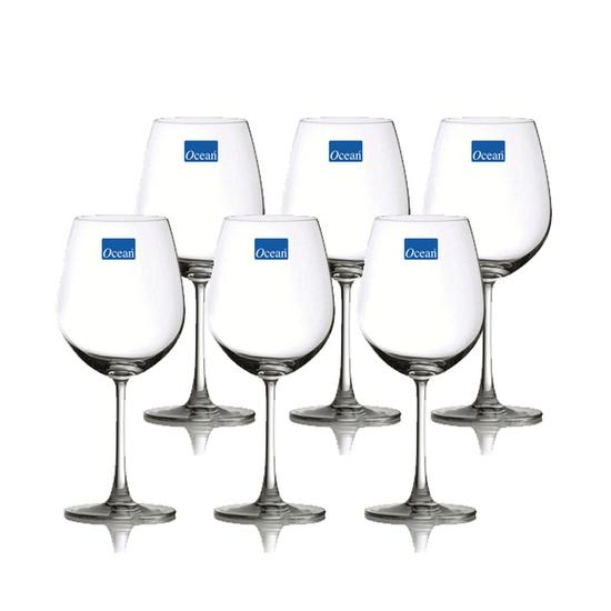 Bộ 6 ly rượu cao thủy tinh Ocean