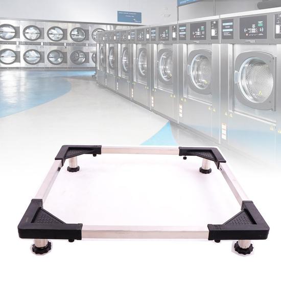 Kệ chân inox đa năng để máy giặt, tủ lạnh Đại An