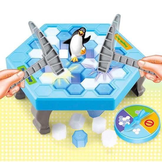 Trò chơi Bẫy chim cánh cụt Penguin Trap cực HOT