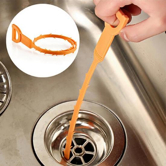 Combo 2 dụng cụ thông tắc lavabo, bồn rửa bát