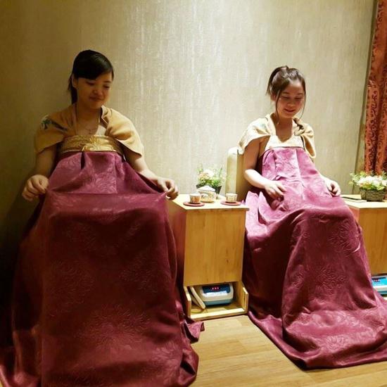 Xông hơi phụ khoa Hàn Quốc + Uống trà, ăn nhẹ DNV BEAUTY & SPA