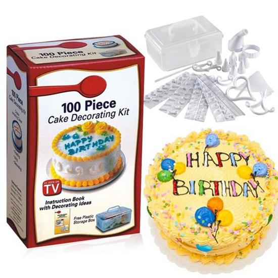Bộ trang dụng cụ  trí bánh kém 100 món