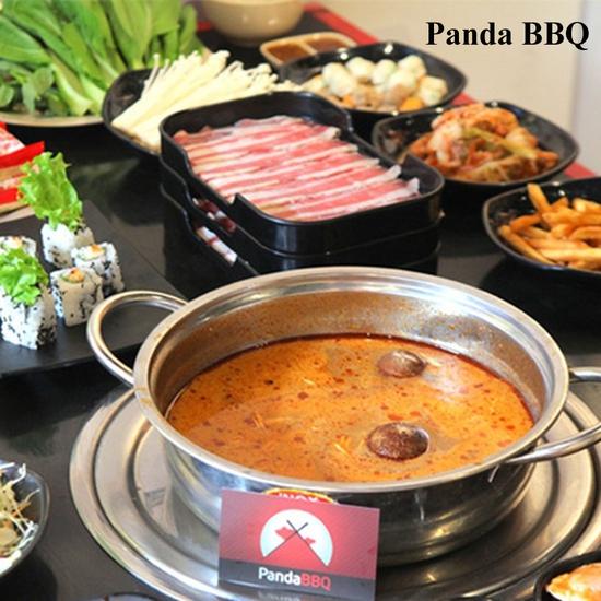 Buffet Lẩu Nhật Shabu Shabu thả ga tại Panda BBQ