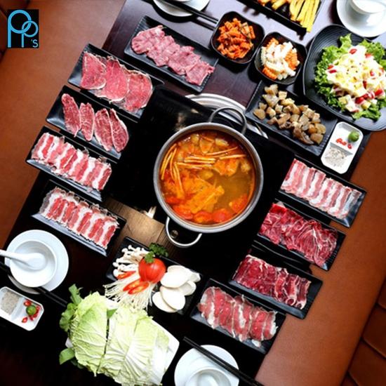 PP's BBQ & HOTPOT Buffet Lẩu Ngon Giá Siêu Hấp Dẫn