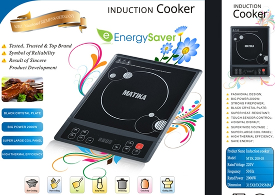 Bếp từ Matika model MTK-003
