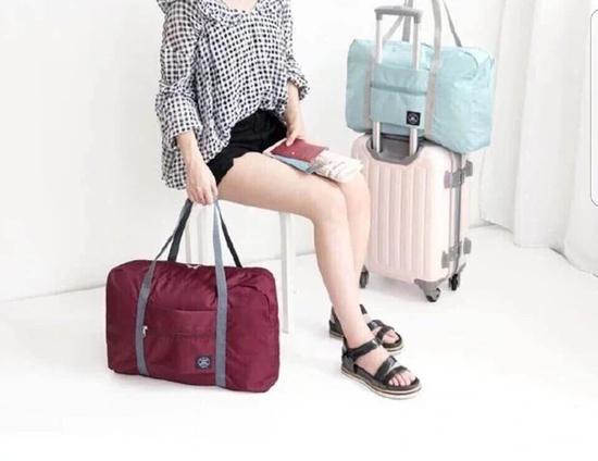 Túi du lịch hay đi shopping gấp gọn