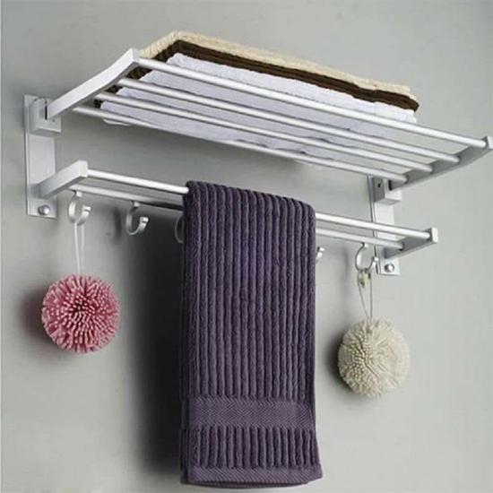Giá treo khăn mặt 2 tầng