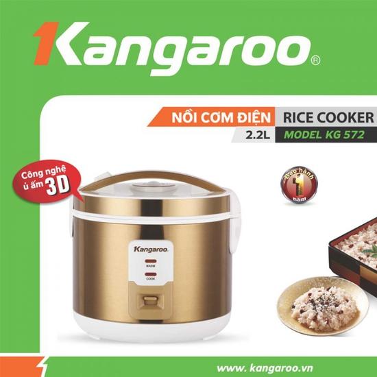 Nồi cơm điện Kangaroo KG572