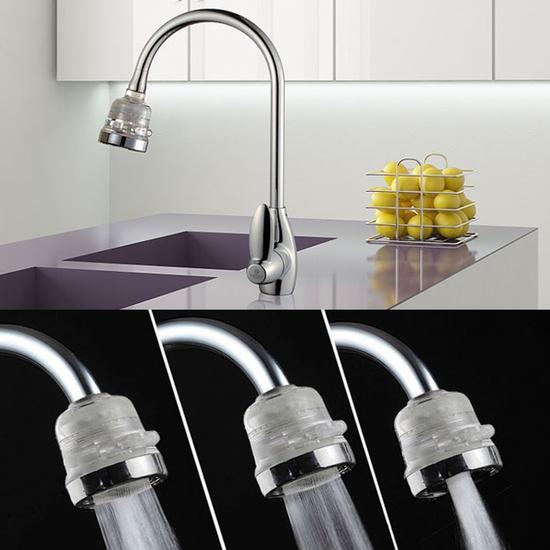Đầu vòi rửa lọc nước tăng áp lực, 3 chế độ-Hàng VN