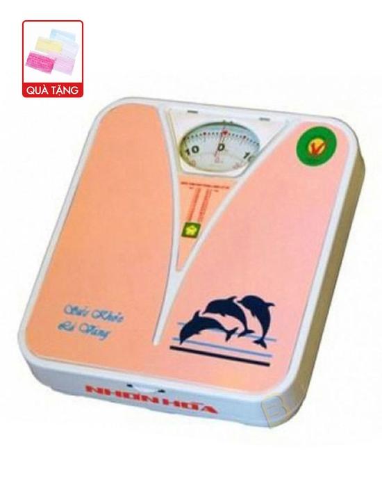 Cân sức khỏe 120 kg Nhơn Hòa Mishop NHHS-120-K2 (Da cam)