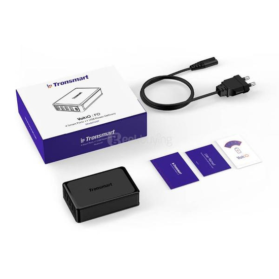 CỦ SẠC TRONSMART 5 CỔNG USB-C U5P- 60W (MACBOOK- QC3.0)
