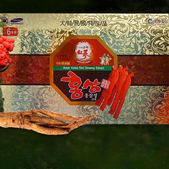 Cao hồng sâm Hàn Quốc 6 năm tuổi