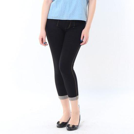 Quần Ngố giả Jeans XANH thời trang