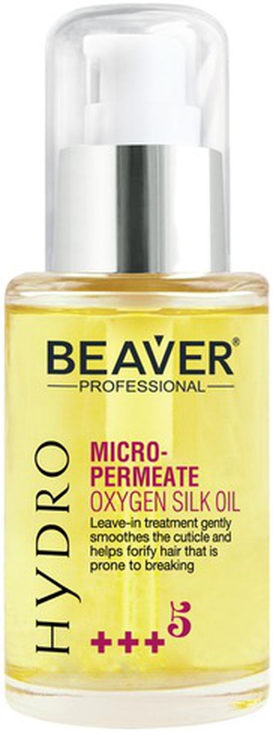 Huyết thanh hàn gắn biểu bì tóc Beaver Hydro Micro-Permeate Oxygen Silk Oil 60ml