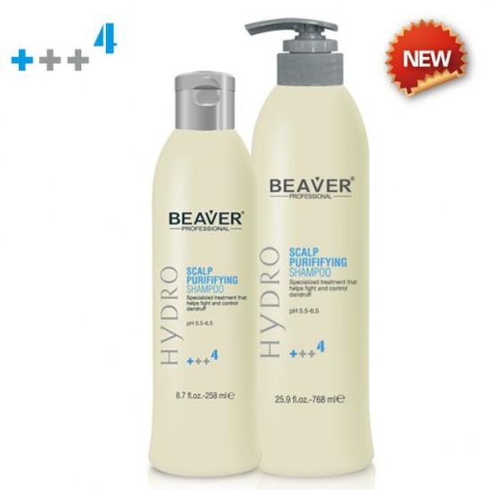 Dầu gội chống rụng và trị gàu beaver scalp purifying shampoo +++4 768ml