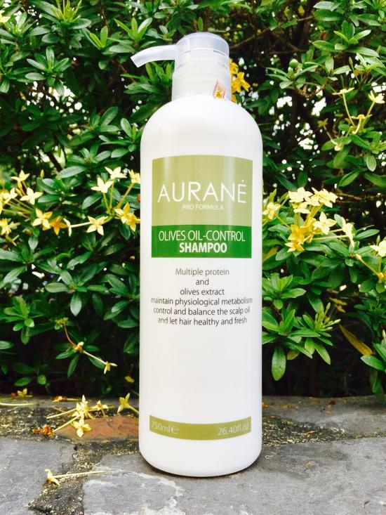 Combo Bộ đôi dầu gội kiểm soát dầu và dầu xả dinh dưỡng Aurane