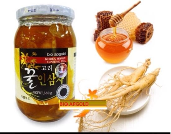 Sâm lát tươi ngâm mật ong 580g