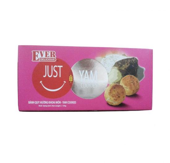 Bánh Just U Khoai môn hộp 150g/gói