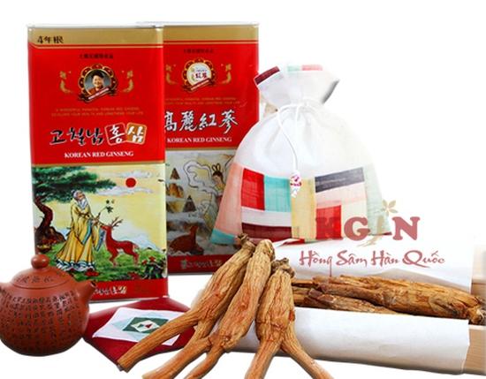 Hồng sâm củ khô Hàn Quốc