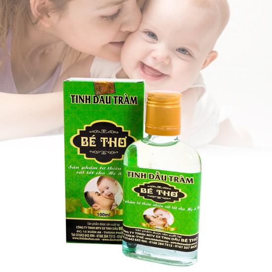 Tinh dầu tràm Bé Thơ lọ 100ml tốt cho mẹ & bé