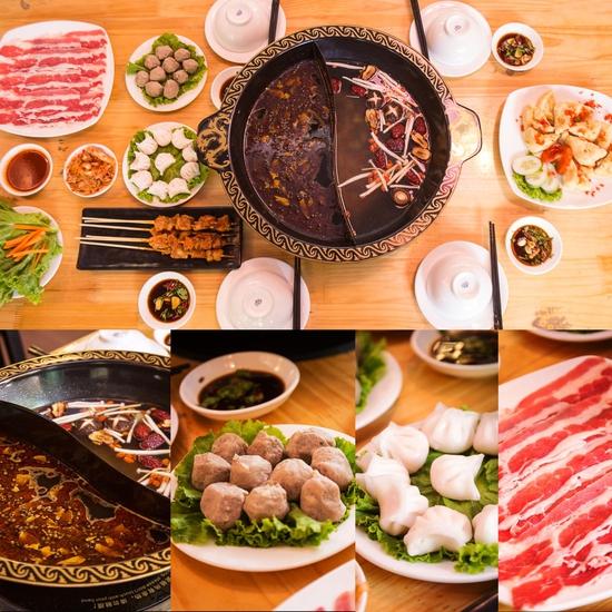 Lẩu uyên ương 2 ngăn + các món ăn kèm hấp dẫn 2N Nhà hàng Phong Quán