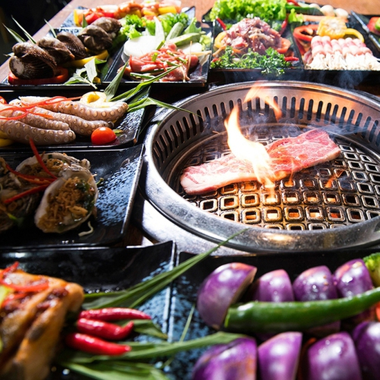 Buffet Nướng Lẩu tươi ngon tặng đồ uống- Galbi BBQ