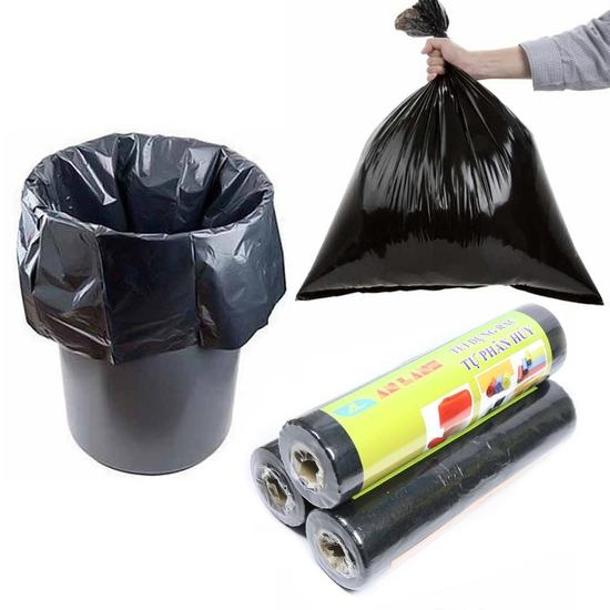 Cuộn túi đựng rác tự phân hủy bảo vệ môi trường An Lành