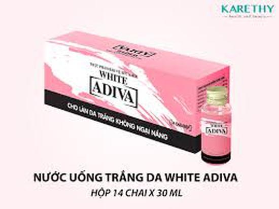 WHITE ADIVA dưỡng chất trắng da làm đẹp da hộp 14 lọ