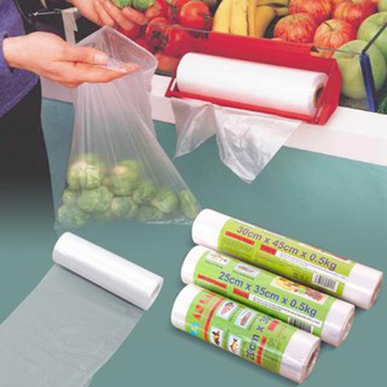 Combo 3 cuộn túi đựng thực phẩm An Lành 20 x 30cm 0.25kg