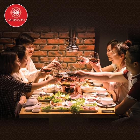 Buffet nướng Hàn Quốc thượng hạng NH Sariwon