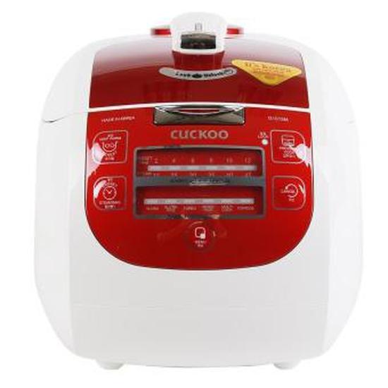 Nồi cơm áp suất điện tử Cuckoo CRP-G1015M 1.8L (Trắng Đỏ)