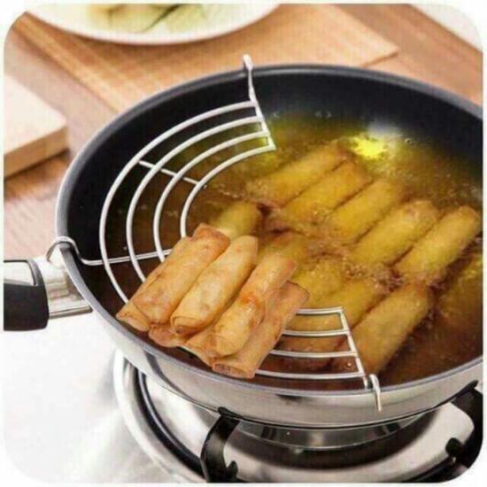 Vỉ gác chảo rán 24-26cm loại dày