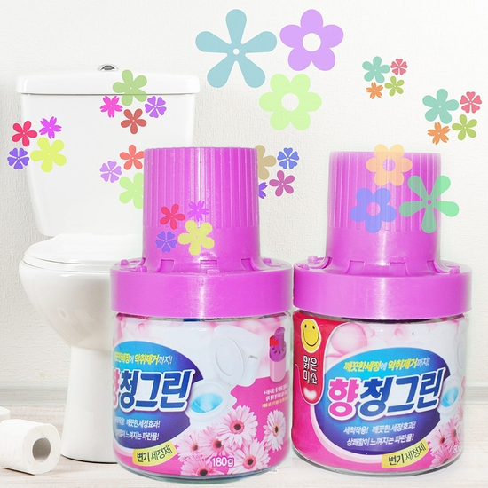 Combo 3 Chai thả bồn cầu Hàn Quốc hương Lavender