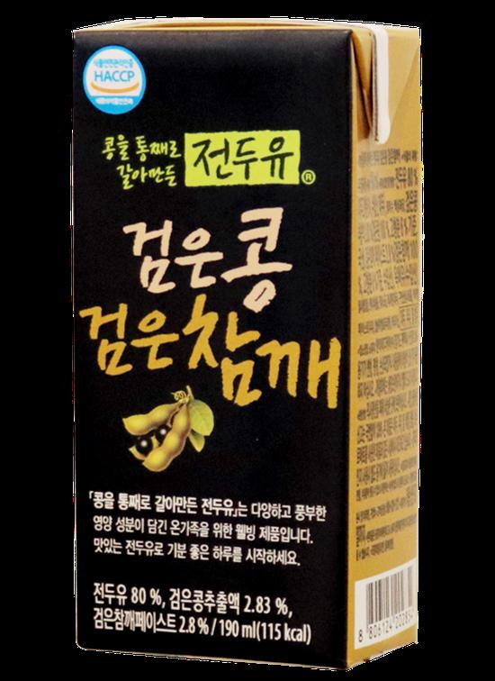 4 hộp sữa Mè Đen, Đậu Đen Hàn Quốc
