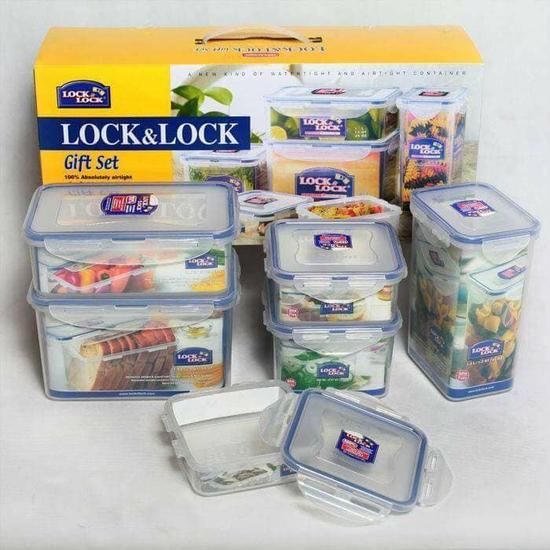 Bộ 6 hộp nhựa đựng thực phẩm locknlock