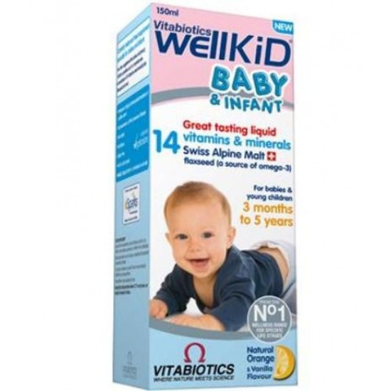 Vitamin cho bé WELLKID BABY & INFANT